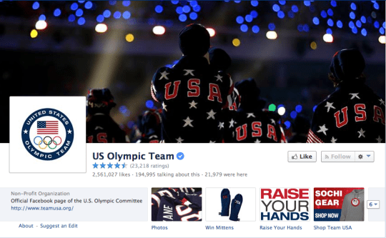 social media marketing ideas olympics