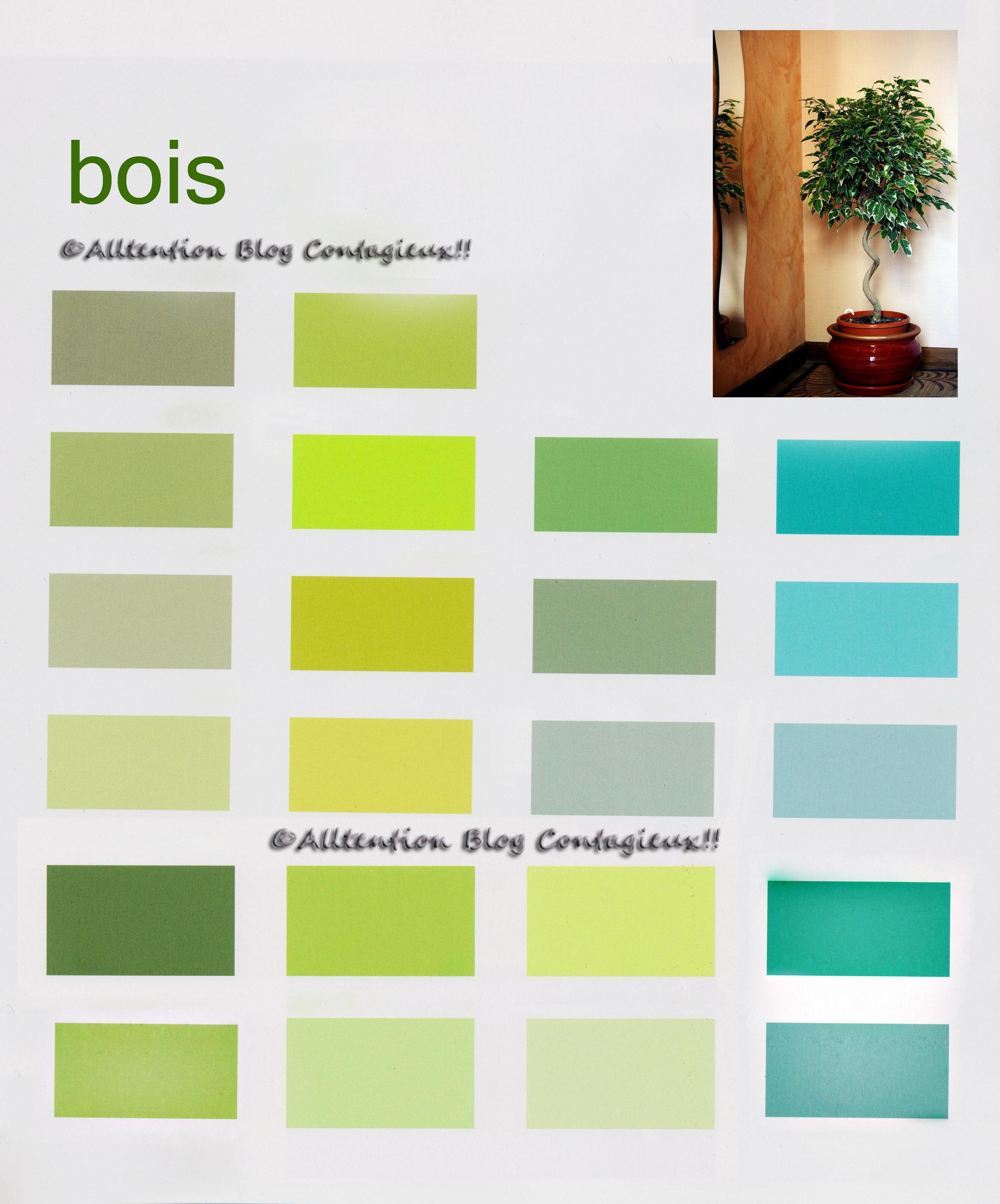 Des secteurs et des couleurs  Attention Blog Contagieux