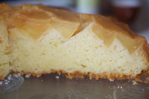 Cake quatre-quarts aux pommes façon Tatin de Felder