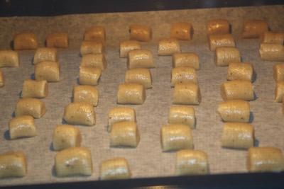 Biscuits de Noël: Vanille Kipferl