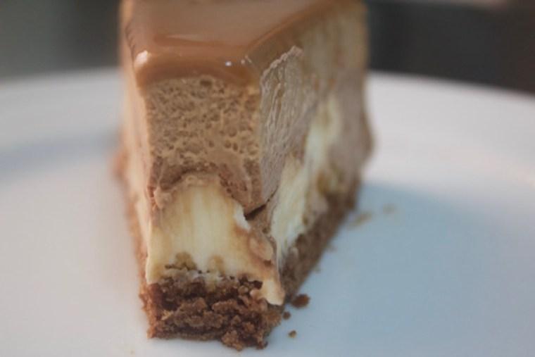Entremets 3 chocolats Valrhona