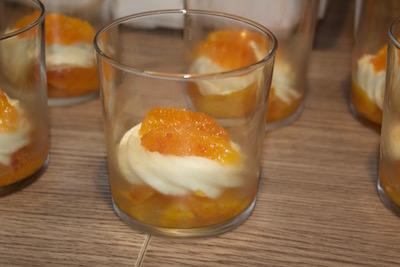 Feuilletage minute pour verrine de mille-feuille à l'orange