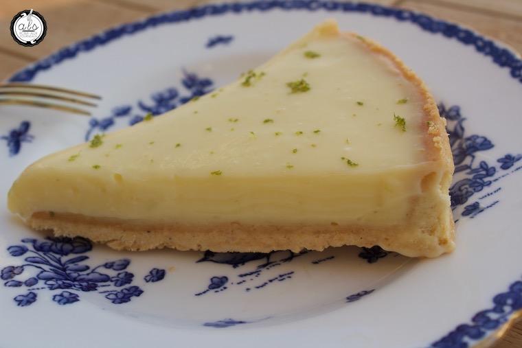 Tarte citron vert et basilic de Jacques Génin