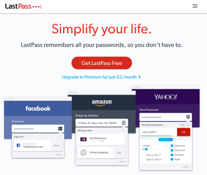Lastpass best free online tool for small business