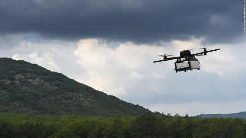 Drones can be used for heavy lifting, either in a swarm or single handedly. This is particularly useful for military purposes to deliver supplies to soldiers in areas that are hard to get to, or dangerous for people.