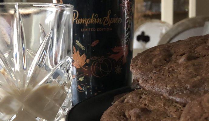 Pumpkin Brownie & Bailey's Pumpkin Spice Chocolate Chip Cookies