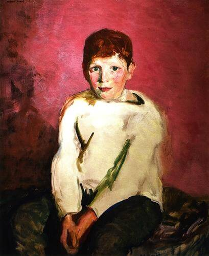 "Robert Henri ""Portrait of Pat"""