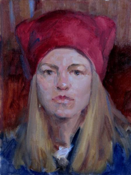 """""""Self Portrait, March 2014"""" by Judith Reeve"""