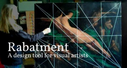 Online course Rabatment: A design tool for visual artists