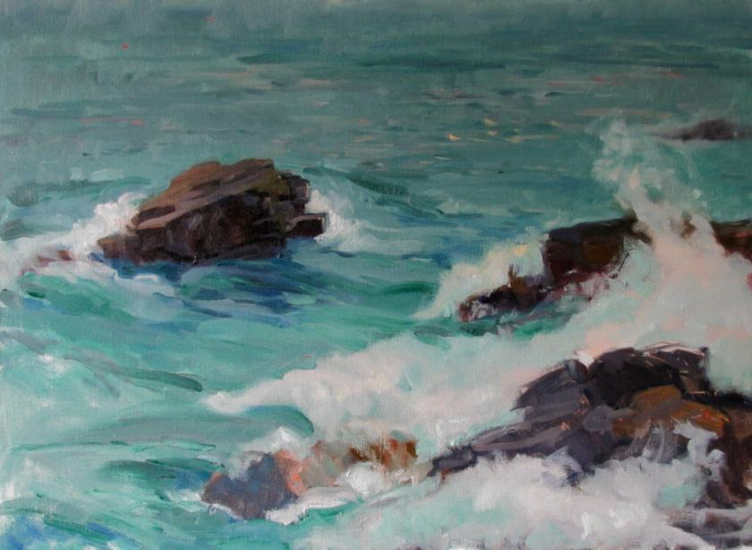 Incoming Tide, a painting by Judith Reeve