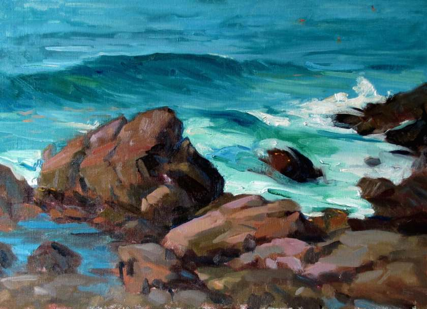 Mid-Tide, a painting by Judith Reeve
