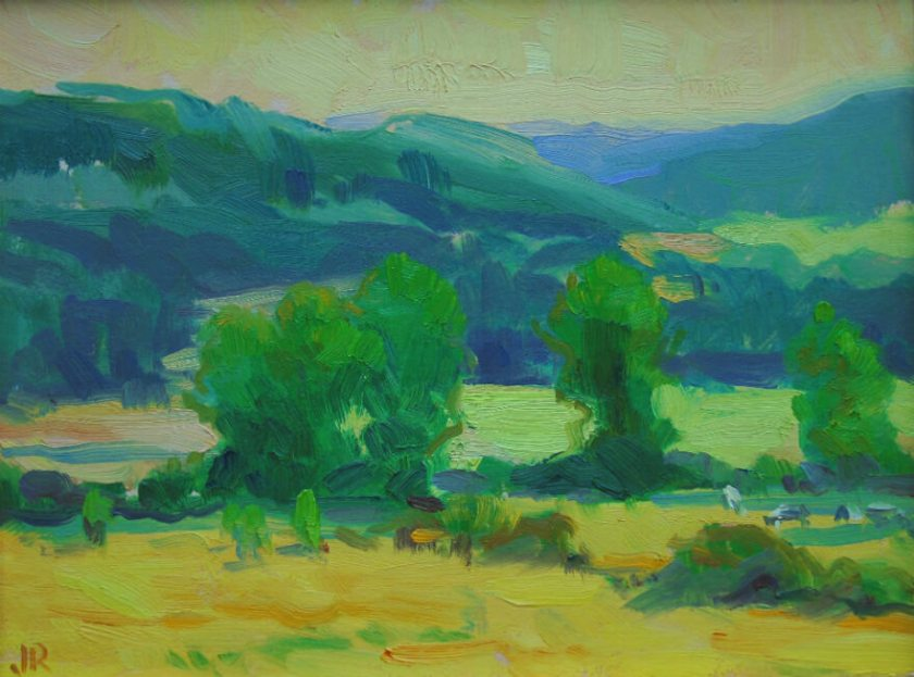Peter's View, a landscape painting by Judith Reeve