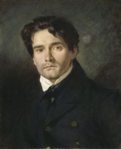 Leon Riesener by Delacroix