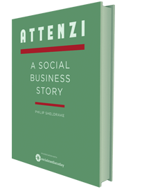 Attenzi - a social business story, book cover