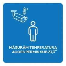 One of the signs being used in the Iulius malls in Romania.
