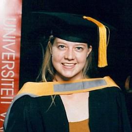 Christine Jordaan - BA Hons Kriminologie – Universiteit van Pretoria 2002
