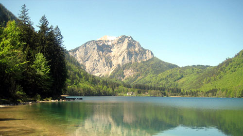 The Langbadsee near Salzburg