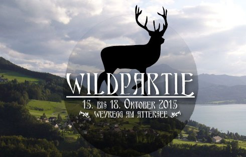 Wildpartie Weyregg am Attersee Oktober 2015