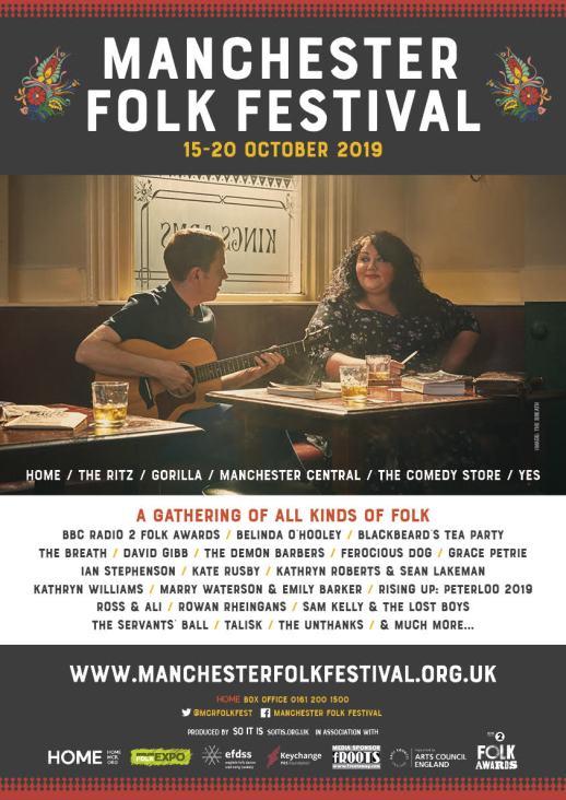mmanchester folk festival 2019