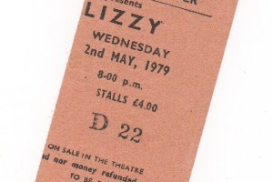 thin lizzy 1979 stub