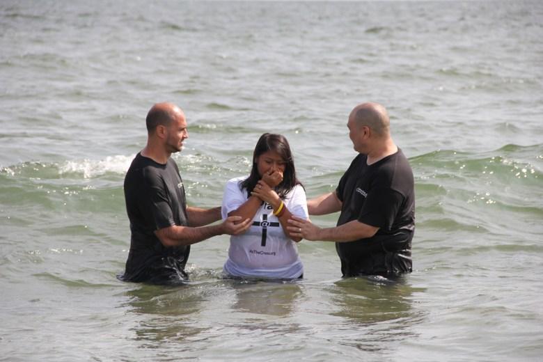 2017 Beach Baptism