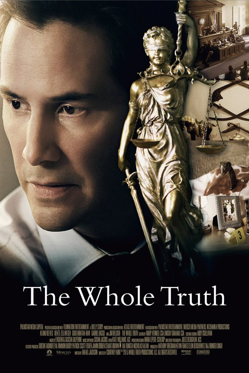 The Whole Truth (film) : whole, truth, (film), Movie, Review:, WHOLE, TRUTH, Mostly, Uninteresting, Courtroom, Drama, Twist!, Unfortunately,, That's, Interesting, Either., FOOTHILLS, MADNESS