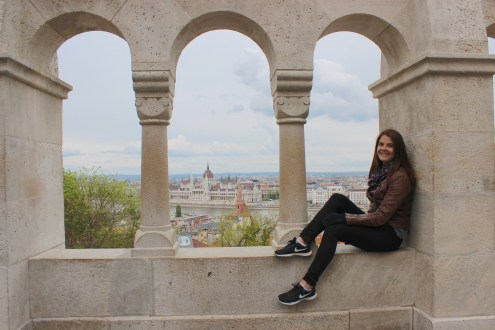 On Buda's side looking to Pest
