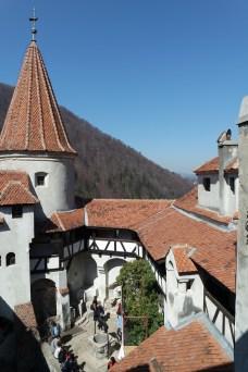 Inner yard of Bran's castle
