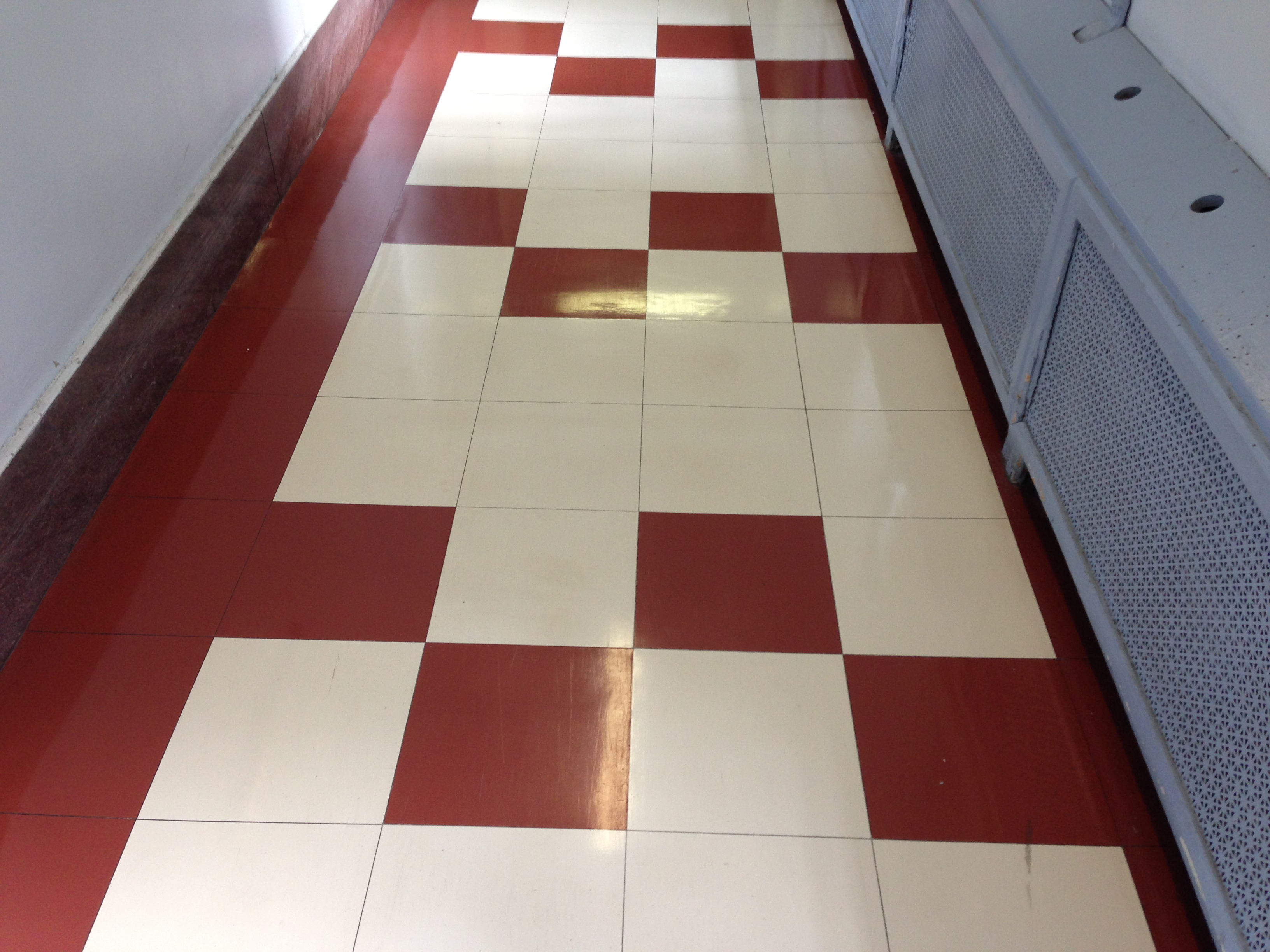 linoleum  Meanwhile at the Manse