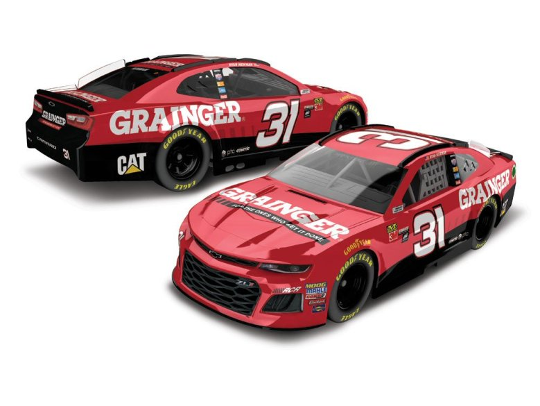 Ryan Newman 2018 Grainger 1:64 Action Nascar Diecast - At The Track Racing Collectibles