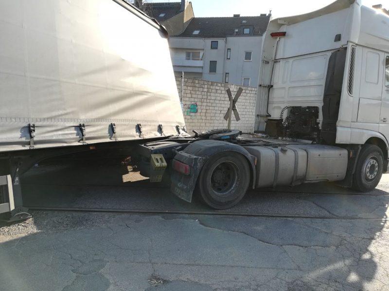 Schäden beim Transport
