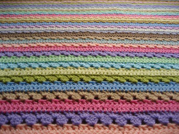 Attic24 Cupcake Stripe Blanket