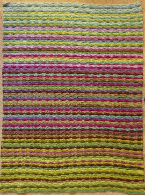 Attic24 Moorland Blanket CAL Part 5