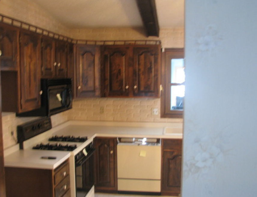 1970\'s Split Level Kitchen Remodel Pictures