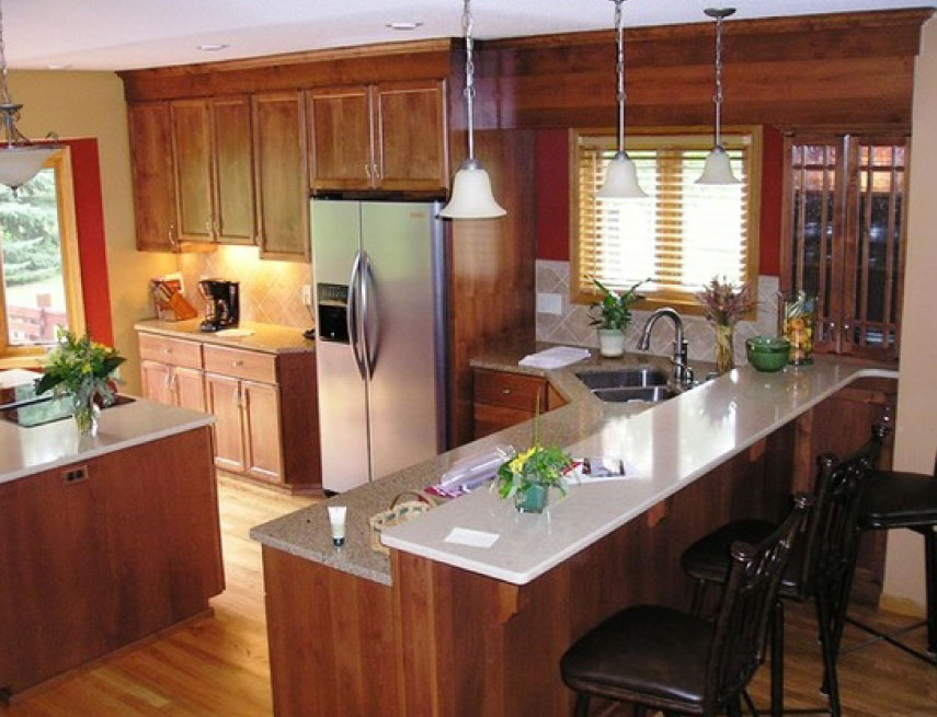 After   Kitchen Remodel   Split Level Home