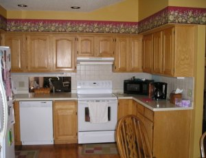 Before - split level kitchen remodel