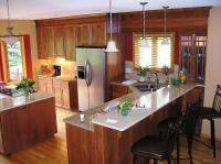Before and After Split level kitchen remodel - Blaine, MN
