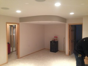 St. Paul Basement Remodel