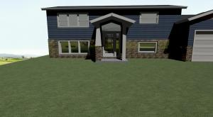 Our 3-D design of this home