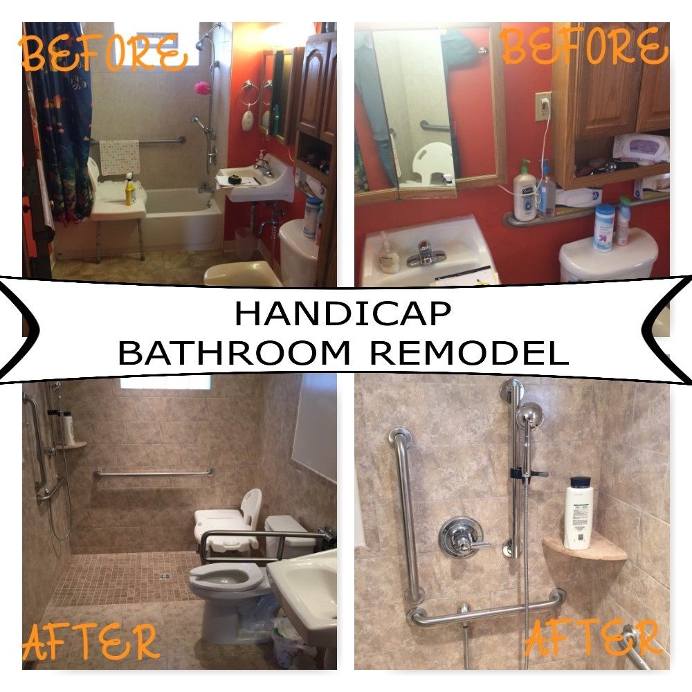 Accessible Home Remodeling Or Modifications. Richfeild Bathroom Handicap