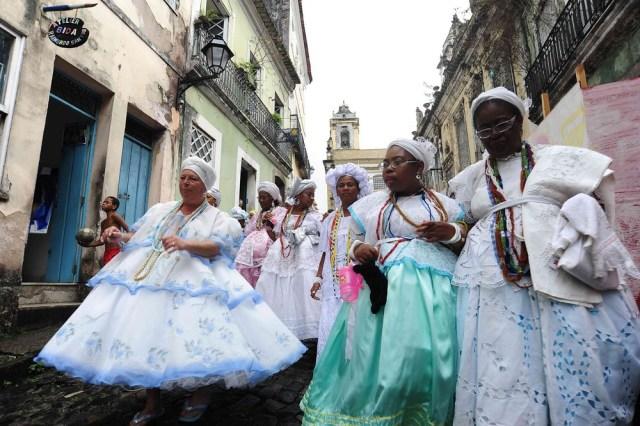 Foi lançada uma campanha de valorização das baianas de acarajé