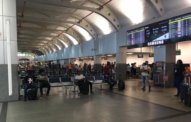 Queda de energia no aeroporto de Salvador