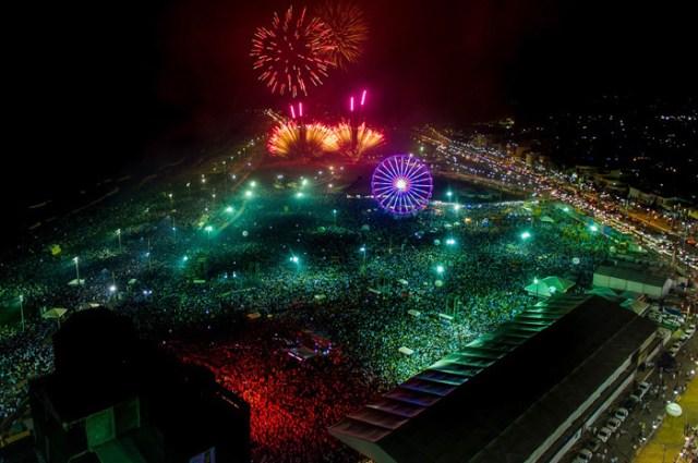 Festival Virada Salvador recebeu 2,1 milhões de pessoas
