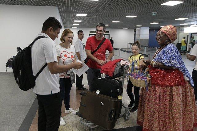 Mais de mil portugueses vieram para Salvador