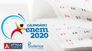 Enem 2020 COVID19 Salvador BA Attilla Torres