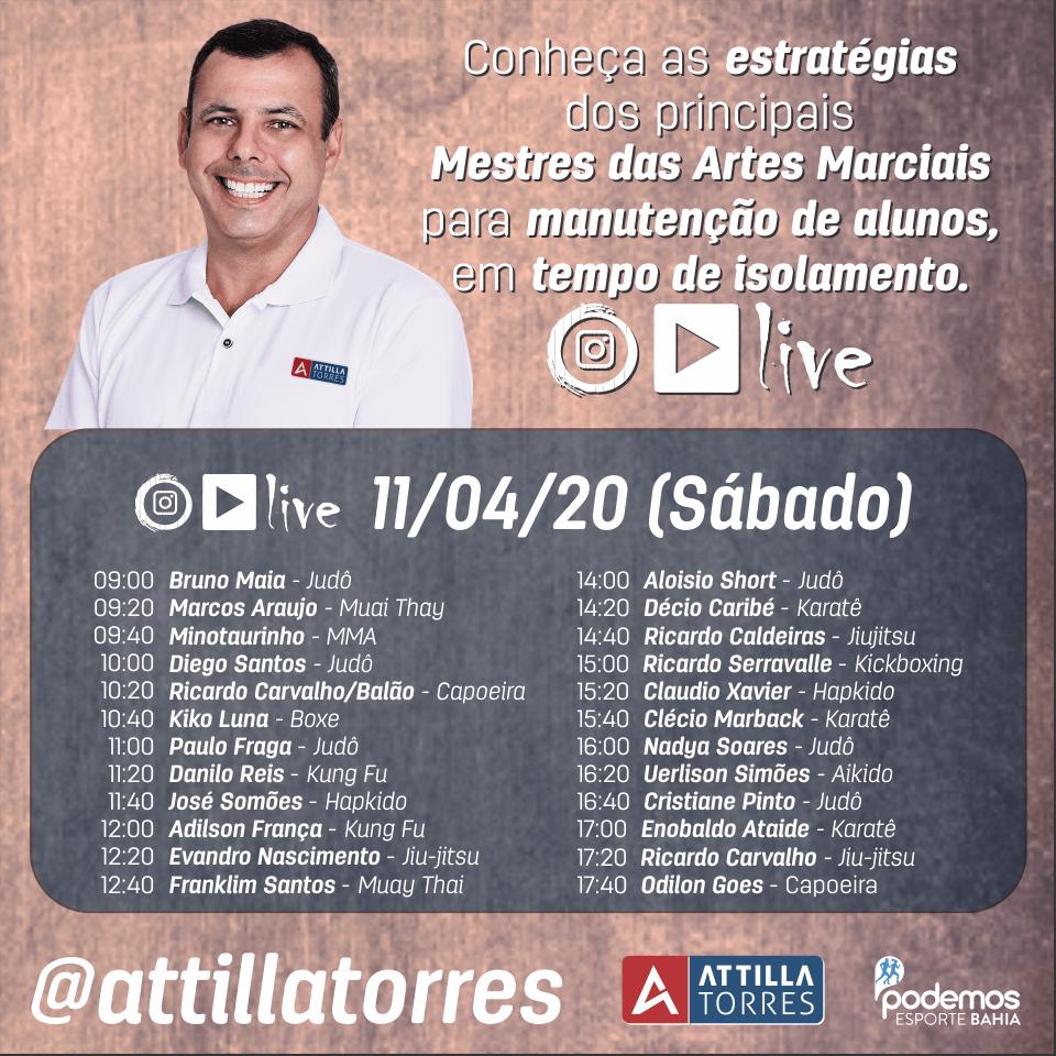Live COVID19 Salvador BA Attilla Torres