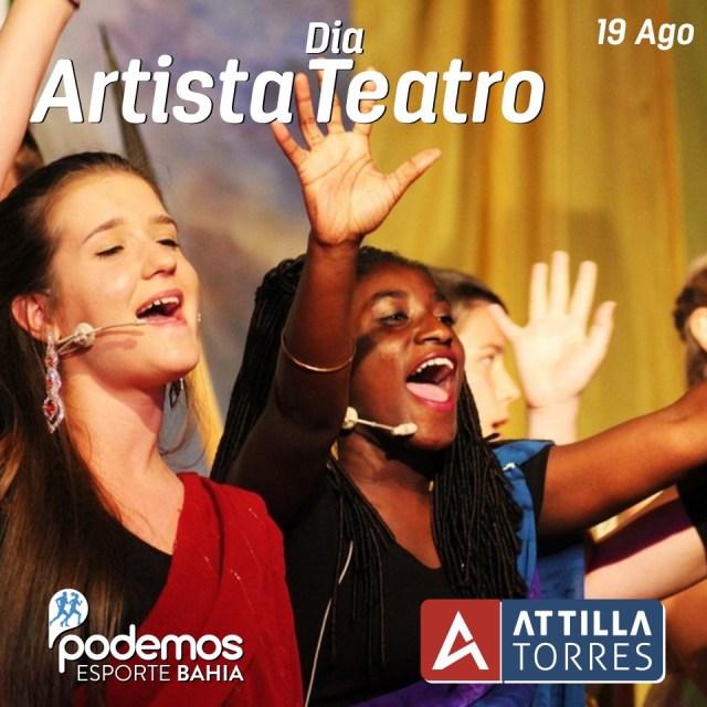 19 AGO- DIA DO ARTISTA DE TEATRO