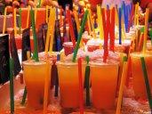 Cannucce e colori al Mercato de la Boqueria