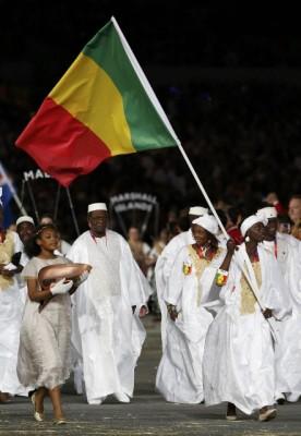 La delegation malienne au J.O de Londres 2012