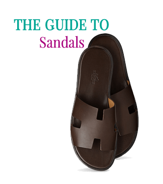 The guide to sandals by Attire Club